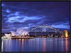 Most Sydney Harbour Bridge, Sydney, Opera